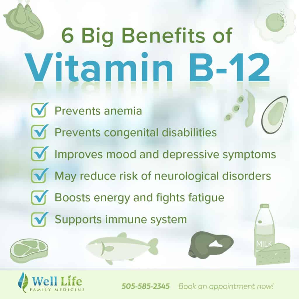 vitamin b12 guideline benefits well life abq