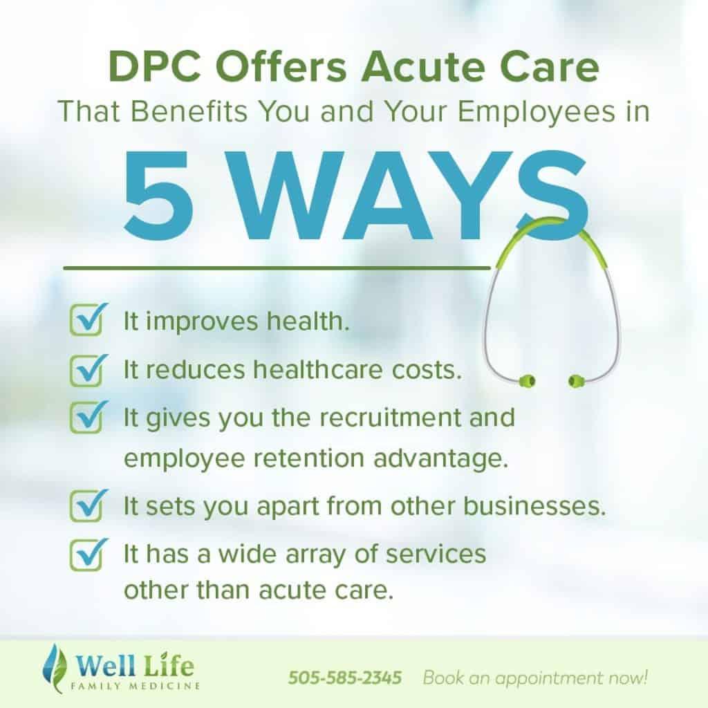 Acute Care well life abq