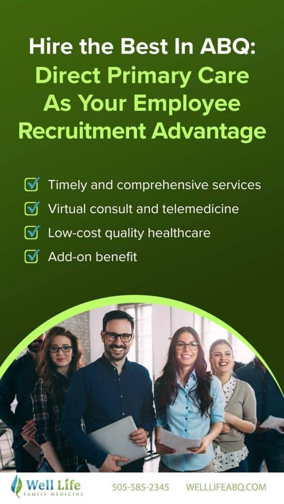 Employee recruitment advantage